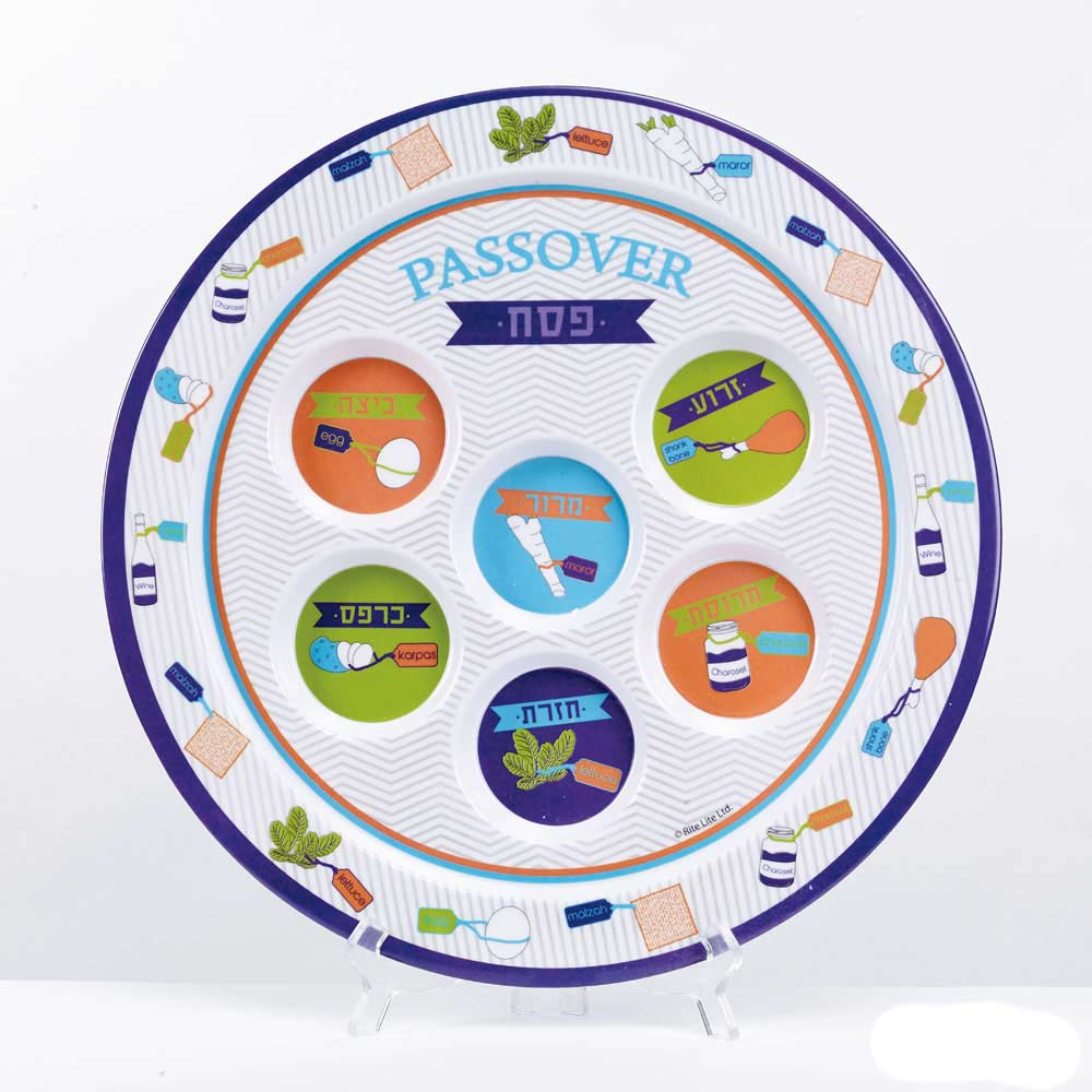 Colorful Seder Plates Manna From Heaven Ministries Store